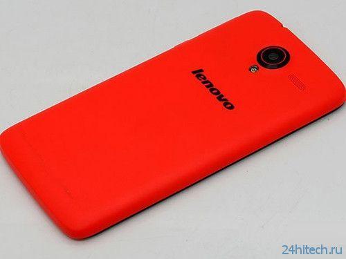 """Lenovo анонсировала в Китае смартфон A628T с 5""""экраном"""