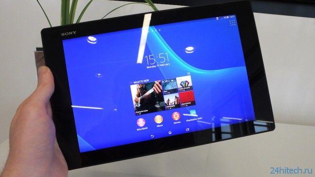 #MWC | Sony представила планшет Xperia Z2 и два новых смартфона
