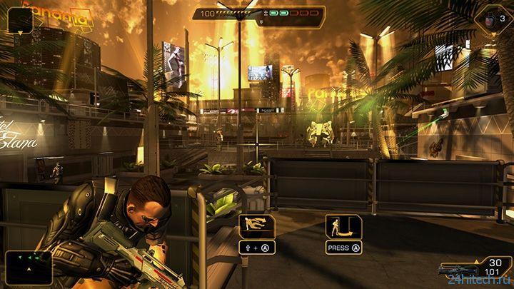 Мобильный стелс-экшен Deus Ex: The Fall выйдет в Steam 25 марта