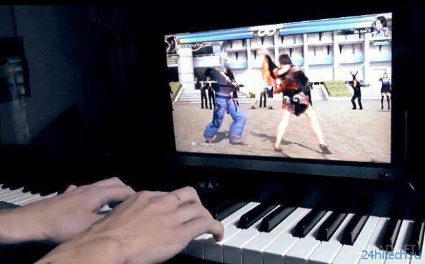 """Музыкальный """"геймпад"""" для Xbox 360 (видео)"""