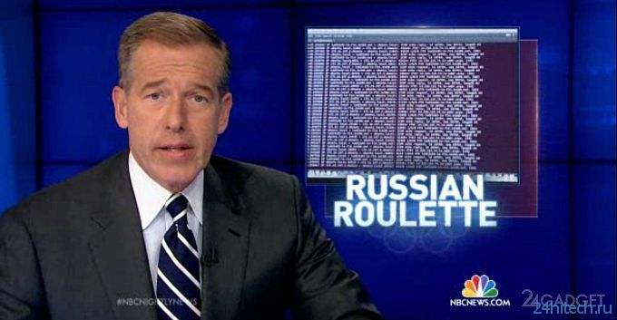 NBC запугивает гостей олимпиады русскими хакерами (видео)