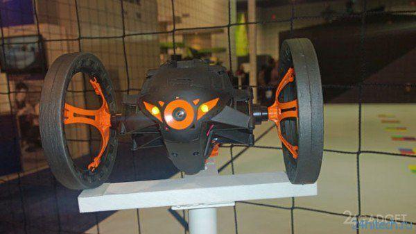 Небольшой обзор двухколесного радиоуправляемого дрона Jumping Sumo