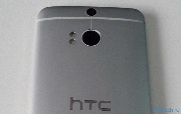 Новые изображения смартфона HTC M8 подтверждают наличие трех камер и отсутствие аппаратных кнопок Android