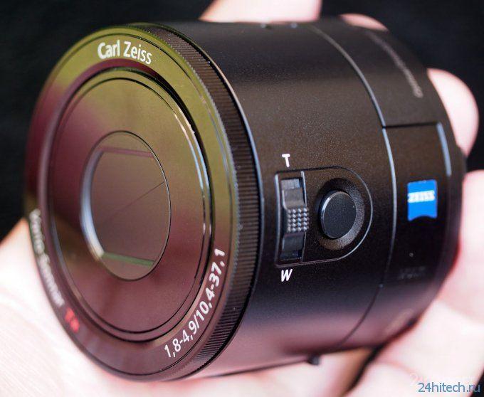 Обзор Sony QX100 - внешнего объектива для Android и iOS