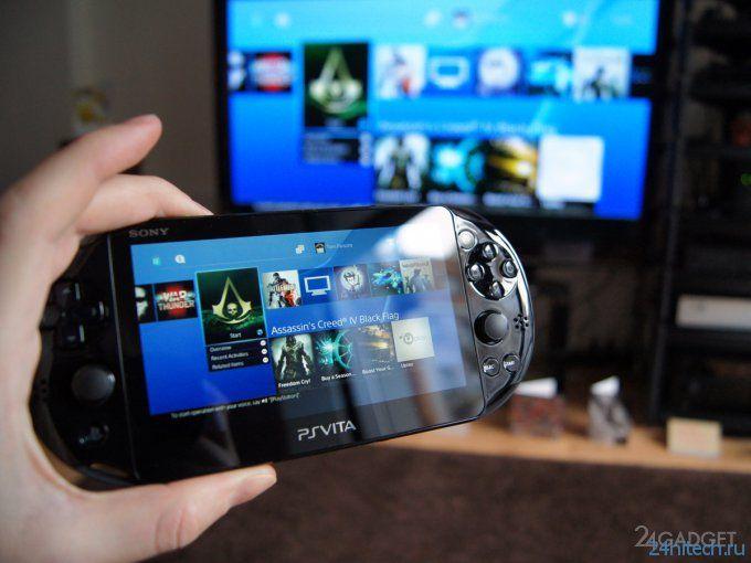 Обзор портативной игровой приставки Sony PS Vita Slim