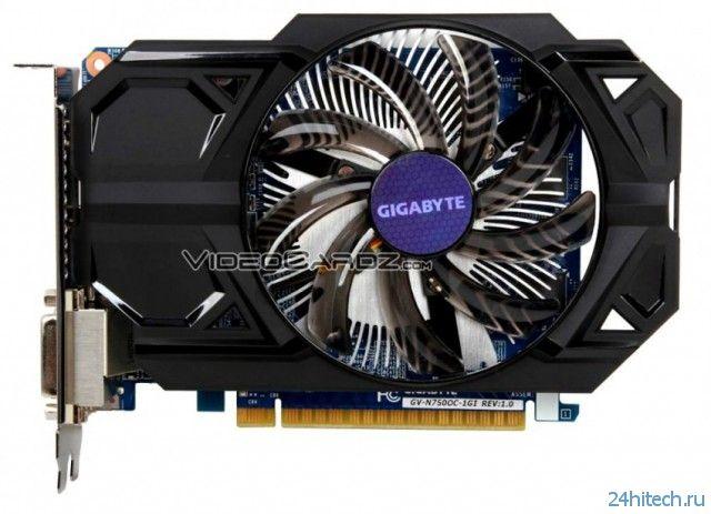 Первые фотографии и характеристики видеокарт серий GIGABYTE GeForce GTX 750 и GeForce GTX 750 Ti