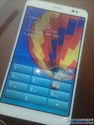 Первые фотографии нового планшета Huawei MediaPad X1
