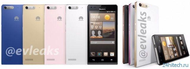 Первые подробности смартфона Huawei Ascend G6