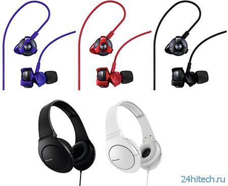 Pioneer добавляет в линейку Bass Head наушники SE-CL751 и SE-MJ741