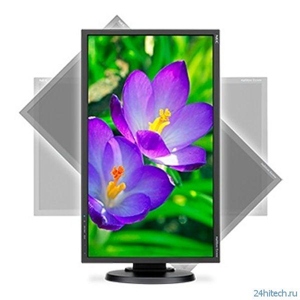 Представлен широкоформатный монитор NEC MultiSync E243WMi-BK
