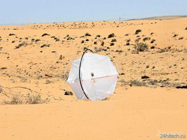 Робот-парусник для изучения пустынь (видео)