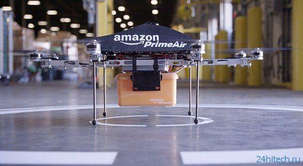 Роботы-квадрокоптеры доставляют почту?