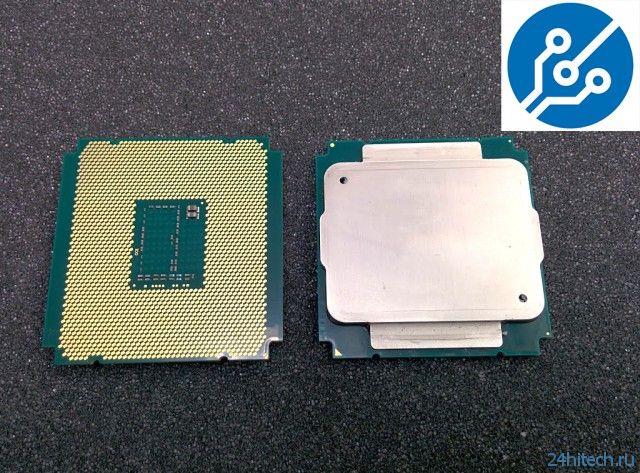 Сфотографирован серверный процессор Intel Xeon E5 v3 Haswell-EP