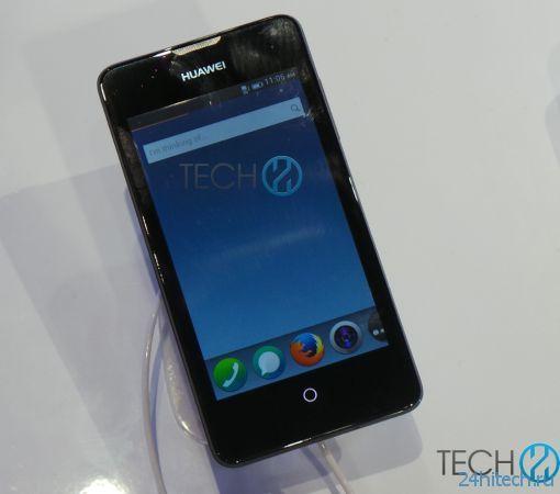 Смартфон Huawei Ascend II Y300 на базе Firefox OS