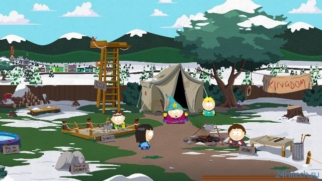 South Park: The Stick of Truth ушла на золото