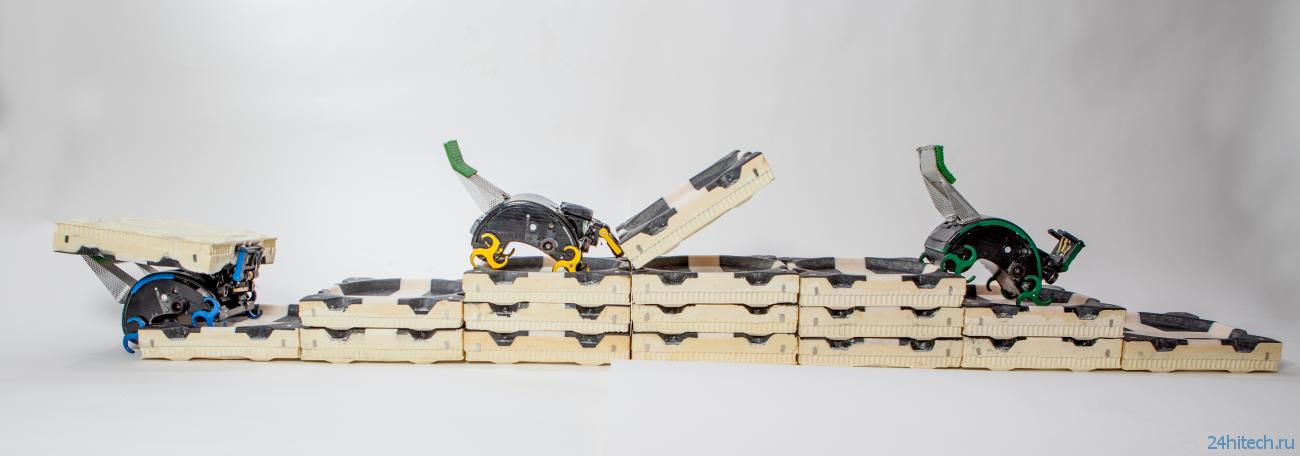 Созданы роботы-термиты, способные строить дома без прораба