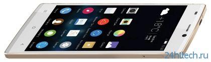 "Тончайший в мире смартфон Gionee Elife S5.5 с 5"" Full HD-экраном"