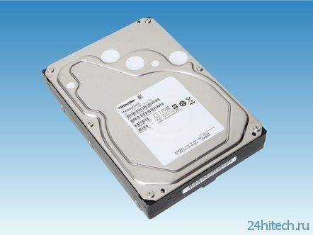 Toshiba представила жёсткие диски корпоративного класса ёмкостью до 5 Тбайт