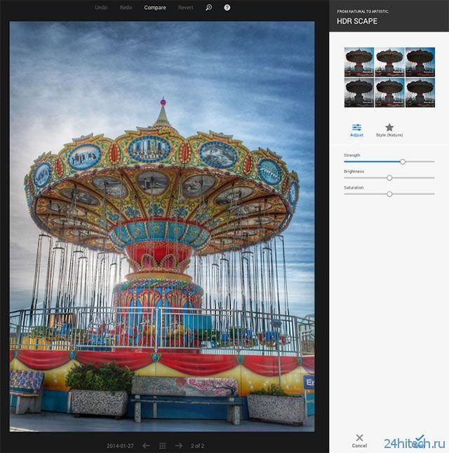 В Google+ появились функции HDR Scape и Zoom для обработки фотографий
