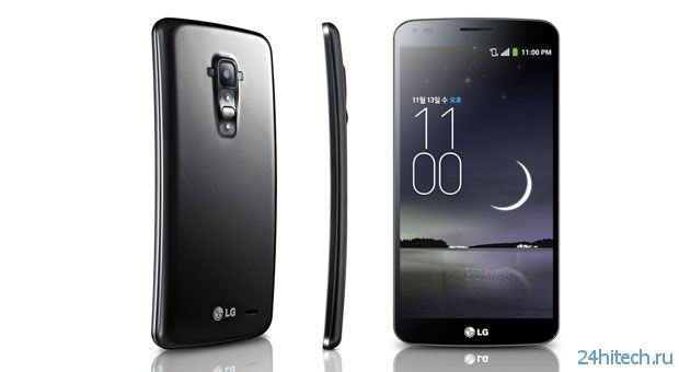 В России изогнутый смартфон LG G Flex будет стоить 35 тысяч рублей