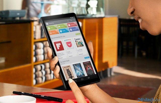В конце апреля Google выпустит 8-дюймовый планшет Nexus
