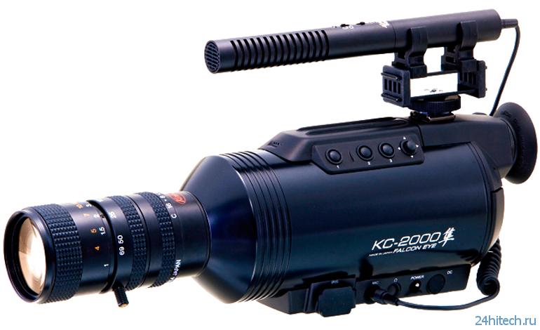 Видеокамера, которая ночью снимает словно днём