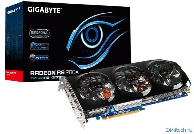 Видеокарта GIGABYTE GV-R928XWF3-3GD (rev 1.0) с дизайном Ultra Durable VGA