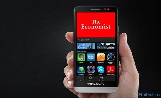 Выход смартфона BlackBerry с 8-ядерным 64-бит чипом намечен на сентябрь этого года