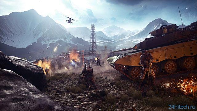 Вышло обновление Battlefield 4 для ПК, которое принесло поддержку Mantle
