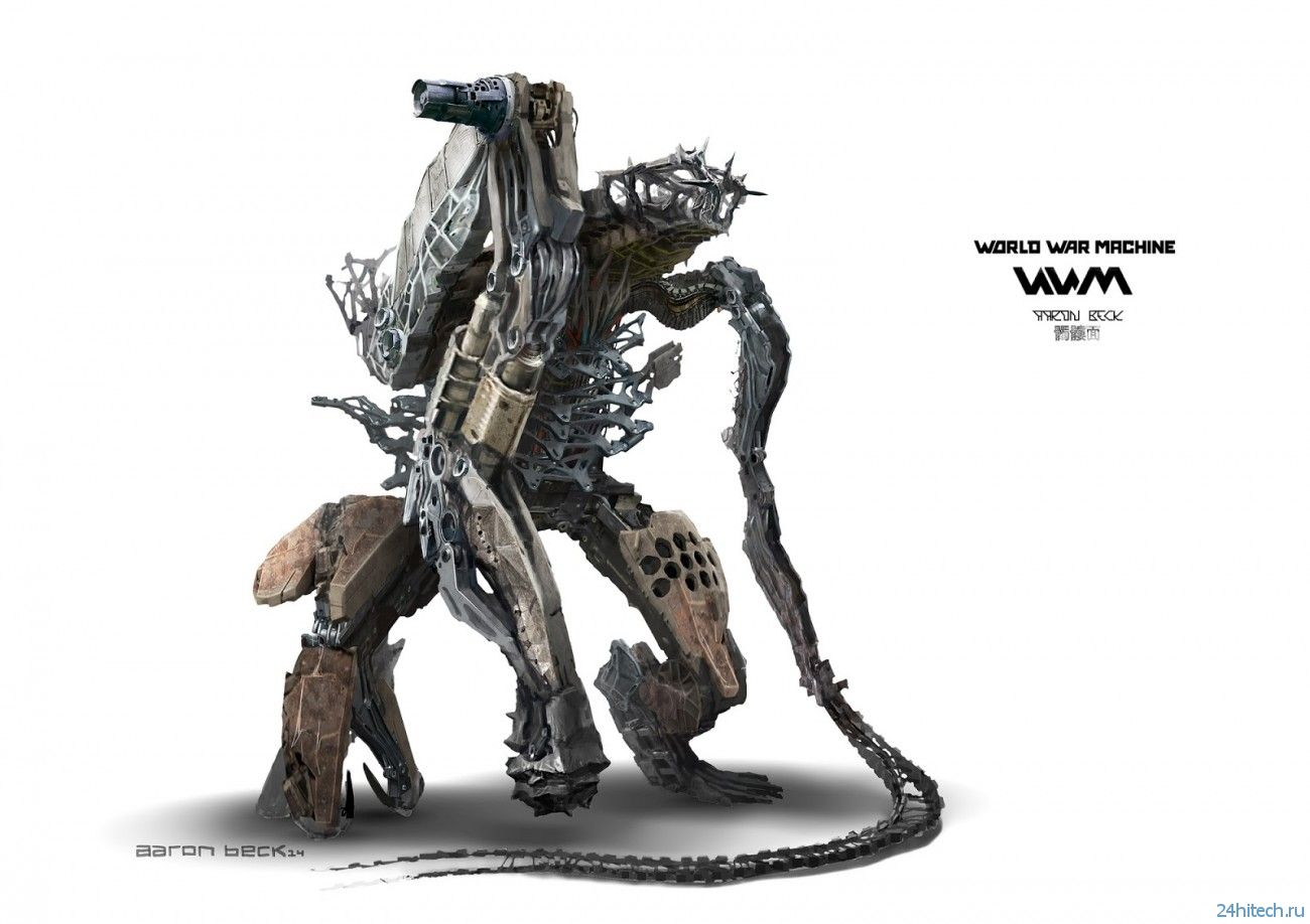 #галерея  Не хотите немного гигантских боевых роботов?