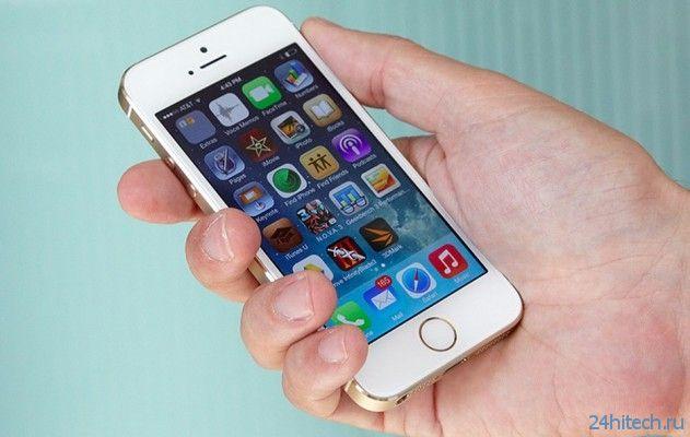 """iPhone 6 с плоскими экранами 4,7""""и 5,5""""выйдет в сентябре"""