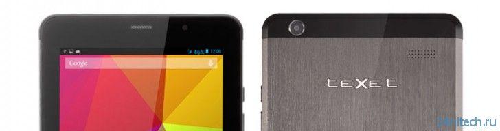 teXet X-pad STYLE 7.1 3G: планшет X-pad STYLE