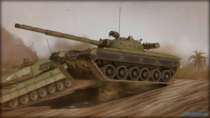 Armored Warfare — условно-бесплатная танковая MMOG от Obsidian Entertainment