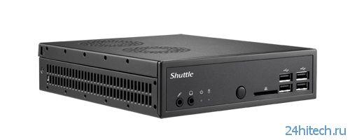 CeBIT 2014: мини-компьютер Shuttle DS81 поддерживает работу с 4K-видео