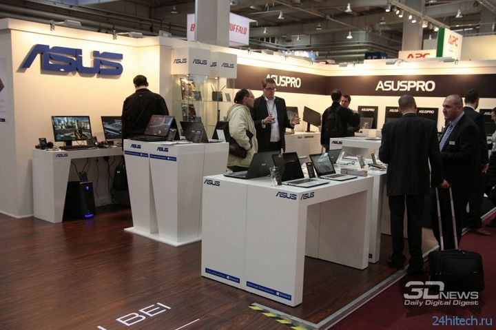 CeBIT 2014: мини-компьютер VivoPC VM60 на стенде ASUS