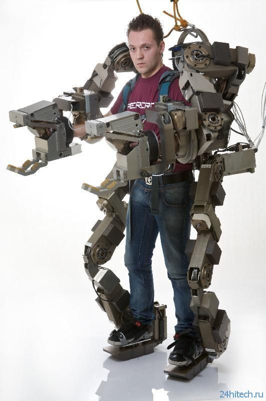 Экзоскелет-трансформер позволит поднимать дополнительные 100 кг