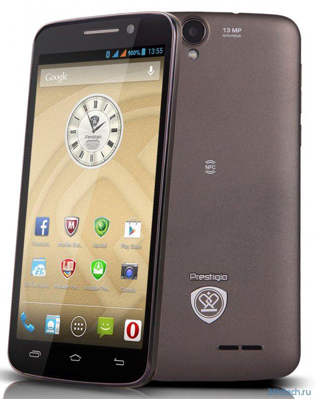 Фаблет Prestigio MultiPhone 7600 DUO доступен на Украине