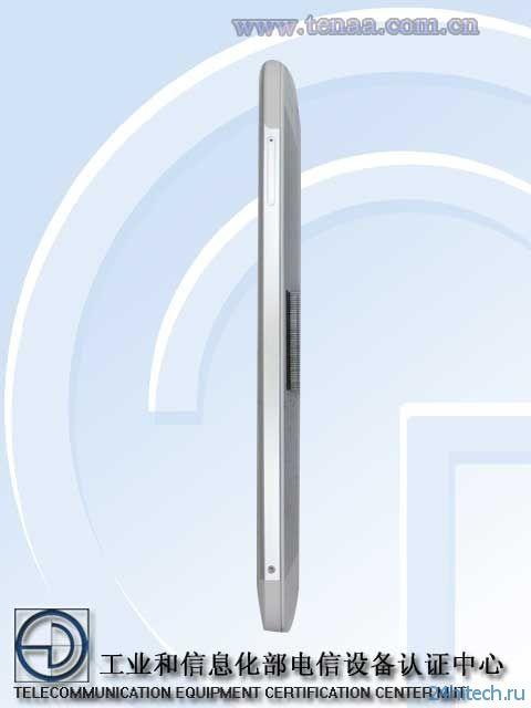 Фаблет ZTE Nubia X6 (NX601J) сертифицирован в Китае