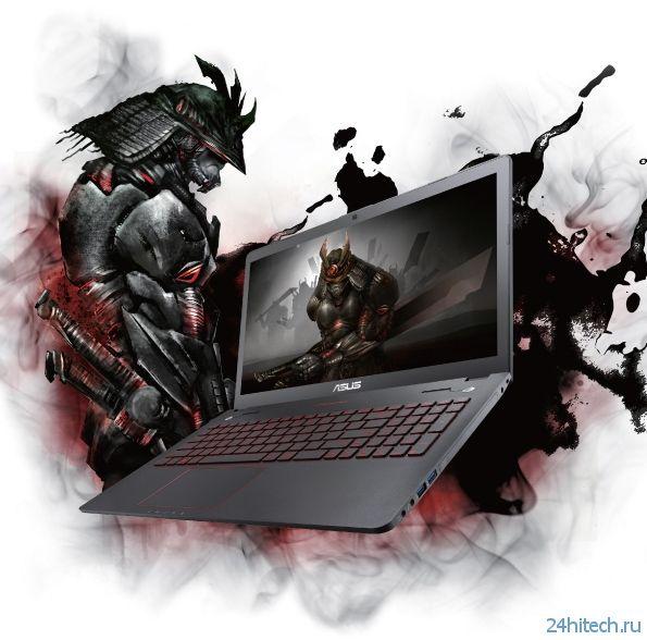 """Игровой ноутбук ASUS ROG G56JR с 15,6"""" IPS-дисплеем"""