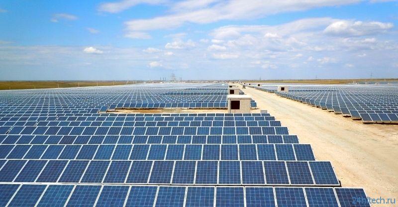 Китай готовится к строительству солнечной электростанции мощностью 1,1 ГВт