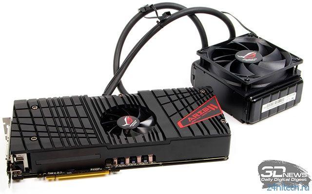 Новый двухчиповый флагман AMD получит имя Radeon R9 295X2 и частоту 1 ГГц