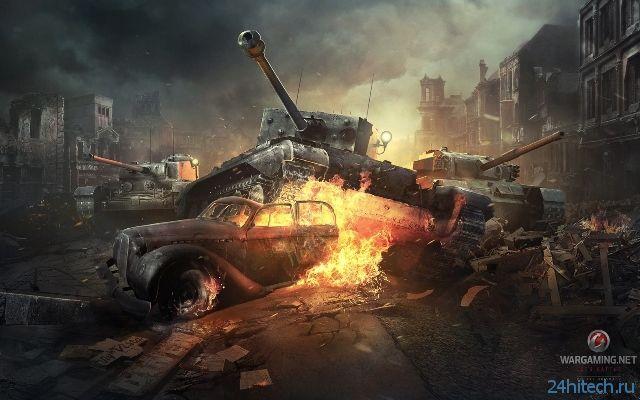 Разработчики рассказали, чего стоит ждать от World of Tanks в 2014 году