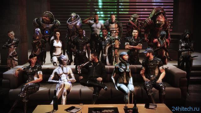 Трилогию Mass Effect могут выпустить на PS4 и Xbox One