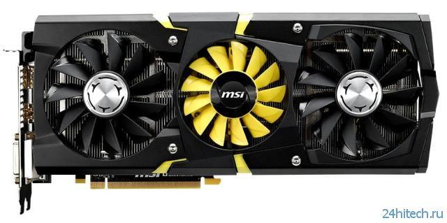 Видеокарта MSI Radeon R9 290X LIGHTNING для фанатов игр и оверклокинга