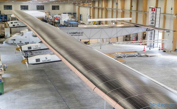     Самолёт на солнечной энергии Solar Impulse готовится к кругосветному путешествию