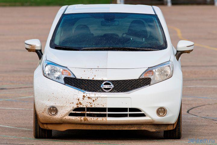Автомобили с самоочищающимся кузовом могут стать реальностью