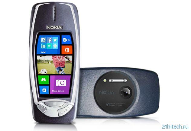 Бессмертная Nokia 3310 возвращается. Теперь — с 41-Мп камерой PureView