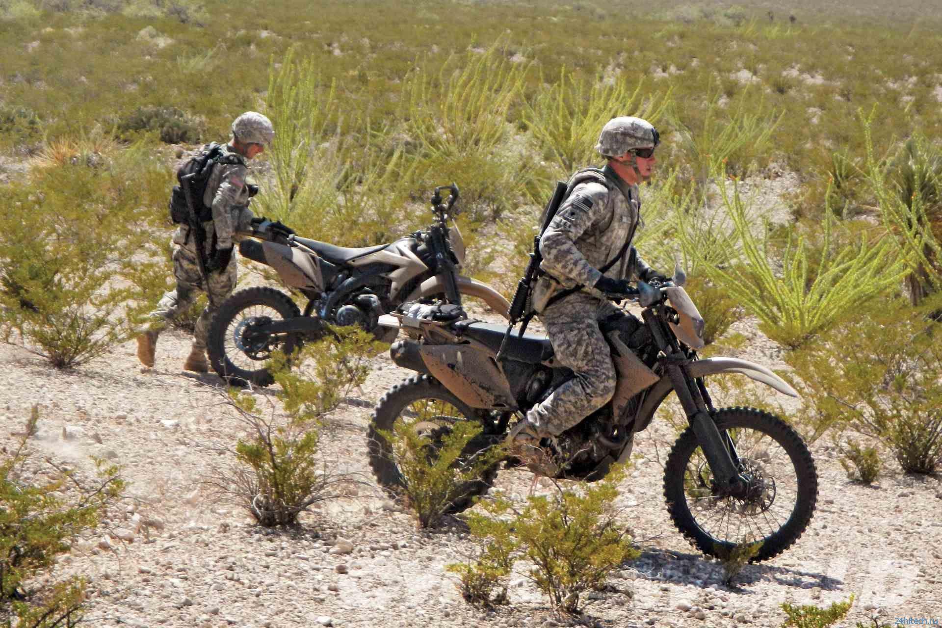DARPA займётся созданием бесшумного гибридного мотоцикла для американских военных