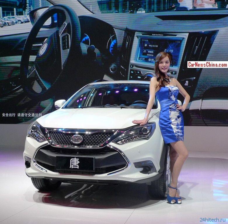 Электрокар BYD DENZA: 300 км пути на китайском аккумуляторе