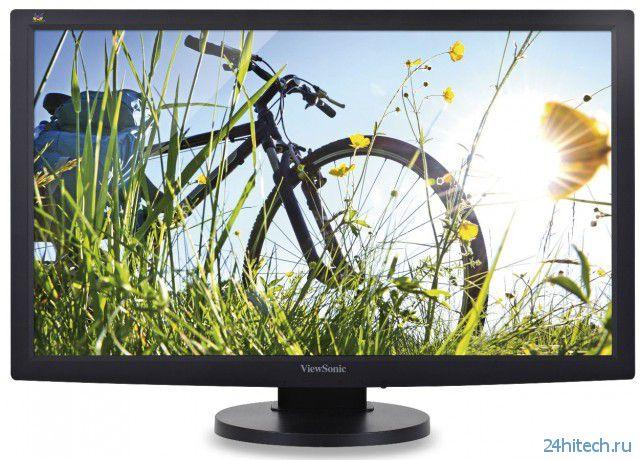 Эргономичные мониторы ViewSonic VG2233SMH и VG2433SMH с технологией SuperClear Image Enhancement